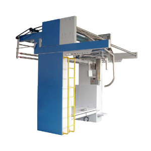 SUNTECH dry and semi-wet knitted Tubular Fabric Slitting Machine for Knitting Factory