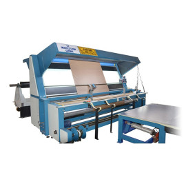 SUNTECH PVC coated Fabric and Artificial leather Edge slitting Machine with Inspection Function
