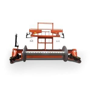 SUNTECH Motorized Warp Beam Lift Trolley With Harness Mounting Device