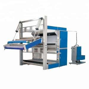 SUNTECH Big Roll Fabric Cloth Inspection Machine with A-Frame