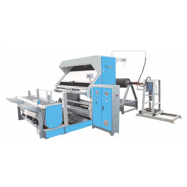 SUNTECH Roll to A-frame Batch Automatic Edge Textile Inspection Machine