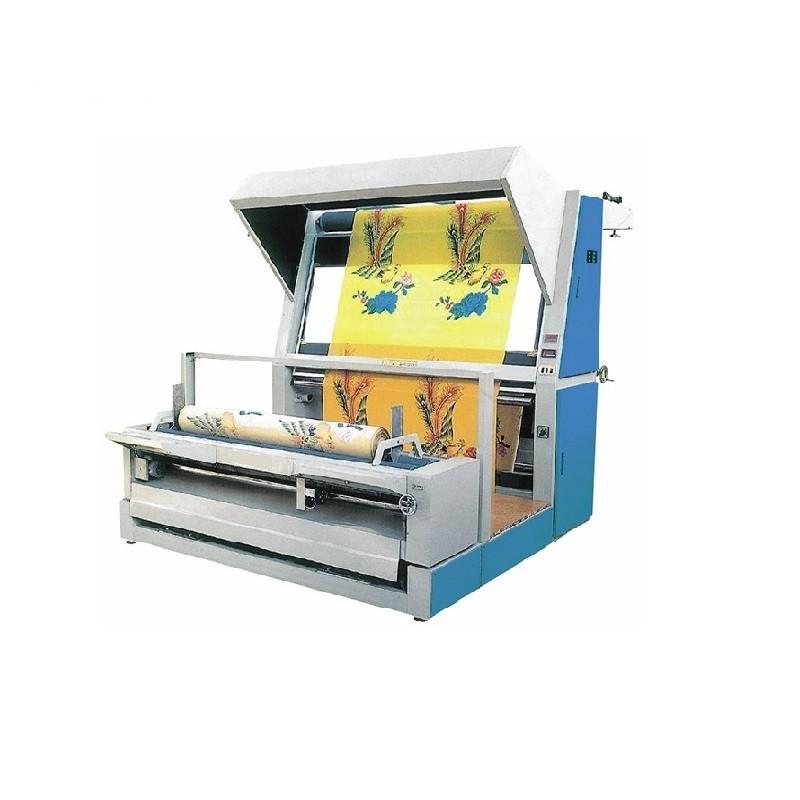 16. When the machine is start, the fabric from Encoder Wheel to rewinging roller can not be measured