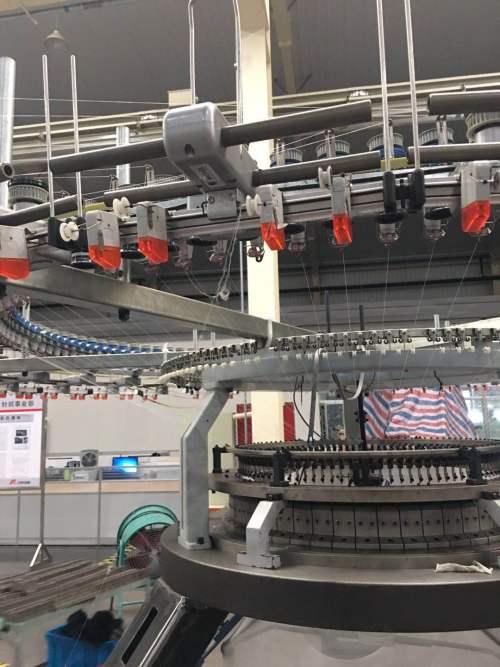 Suntech Double jersey Open-width Circular Knitting Machine