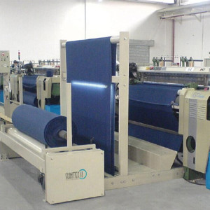 SUNTECH Automatic Synchronization With The Weaving Machine Batch winder Fabric Winding Machine