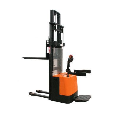 Suntech Lfiting 2000kgs and double lift cylinder design Motorized Stacker