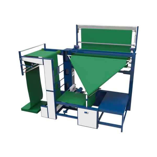 SUNTECH Open-width Fabric Double Folding Tube-Sewing Machine for dyeing factory