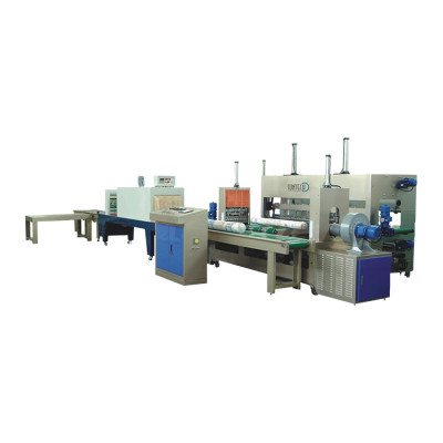 SUNTECH High Efficiency 7 rolls/min Fabric Roll Packing Machine
