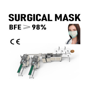Automatic Non Woven Disposable Outside Ear Loop Medical Face Surgical Mask Making Machine