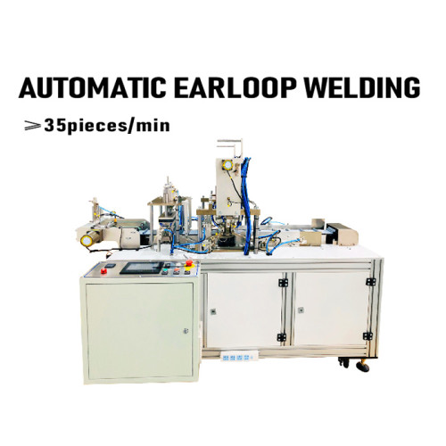 Automatic Surgical Medical Face Mask Earloop Welding Machine