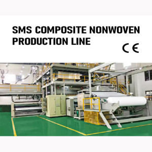 Suntech Surgical gown or Diapers SMS Composite Nonwoven fabric Production Line
