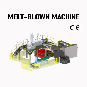 Mask Raw Material PP Meltblown Fabric Extrusion Cloth Making Machine Nonwoven Production Line