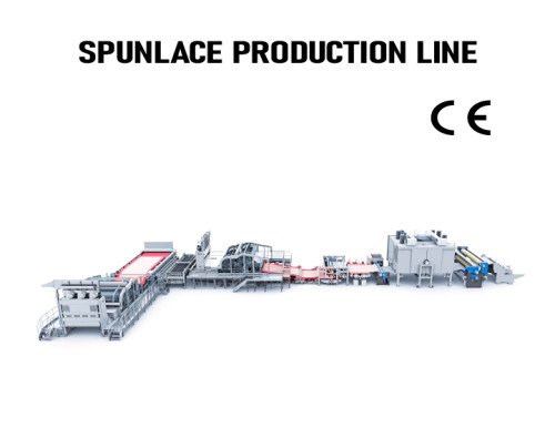 SUNTECH Automatic pp spunlace nonwoven fabric machine