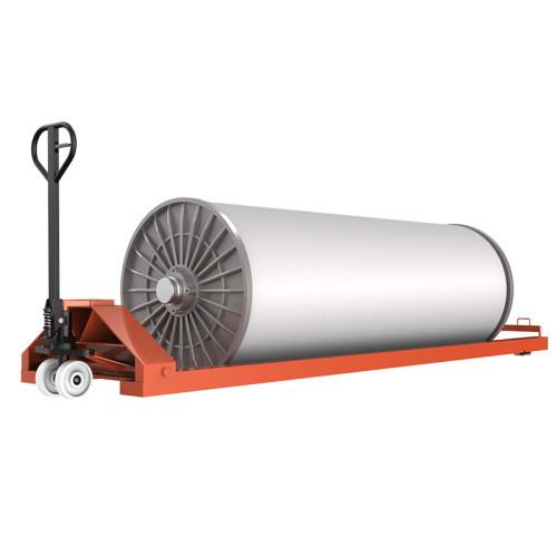 SUNTECH Hydraulic Empty Warp Beam Low Lift Trolley
