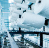 Successful counterattack in the textile industry, Suntech packaging inspection and wiring help textile production