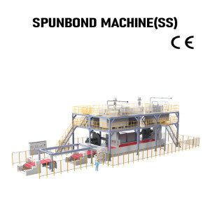 Suntech PP  SS Double Beam Spunbond Nonwoven fabric Production Line