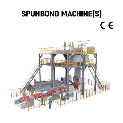 Suntech PP  S Single Beam Spunbond Nonwoven fabric Production Line