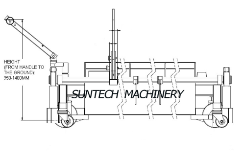 SUNTECH Motorized Big Batch Moving Lift Trolley