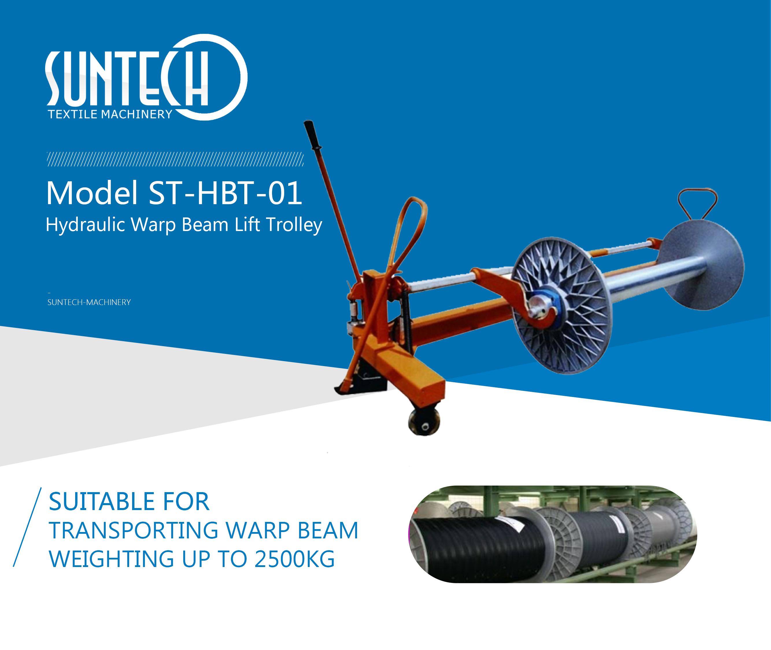 Hydraulic Warp Beam Lift Trolley