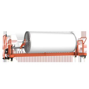SUNTECH Hydraulic Warp Beam Truck trolley for bottom transporting