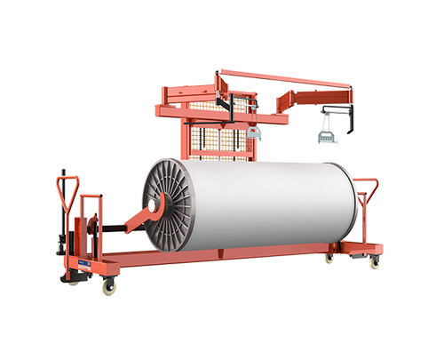 SUNTECH Hydraulic Warp Beam Lift Trolley With Harness Mounting Device