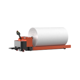 SUNTECH Motorized Big Fabric roll Lift and transport Trolley