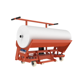 SUNTECH Hand Type Cloth Roll Transport Trolley Tractor Truck