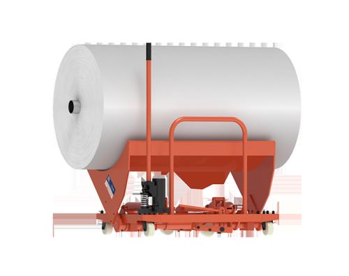 SUNTECH Hydraulic Cloth Roll Doffing Trolley-Heavy Duty