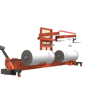 SUNTECH Motorized Twin Warp Beam Lift Trolley With Harness Mounting Device