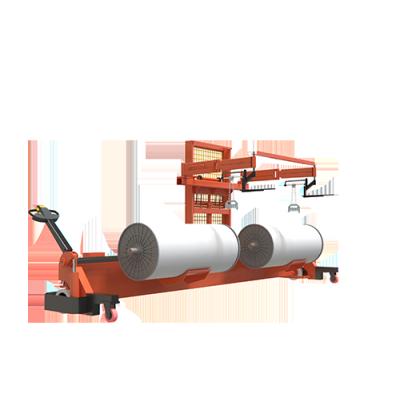 SUNTECH Motorized Twin Warp Beam Lift Trolley With Harness Mounting Device