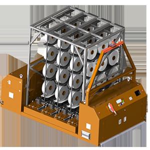 SUNTECH New Design LaserNavigationAGV Two Way Carrying Type 3.5