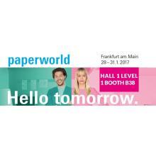 See us on Paperworld Frankfurt