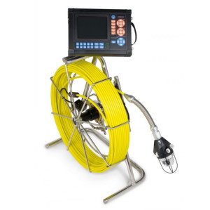 Industrial pipe inspection camera video borescope