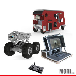 S300 sewer crawler mainline Utility Inspection Camera