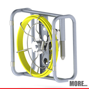 Portable endoscope sewer drain camera for contractors