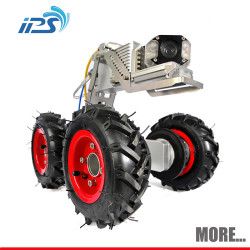 Explosion proof cctv camera robot for pipe sewer mainline tank inspection system