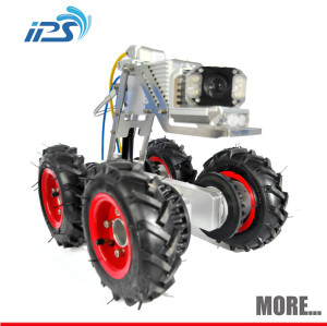 Pipe inspection crawler robot wireless sony ccd cctv plumbing camera sensor system