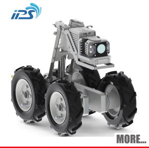 200 meters CCTV Camera Auto Level Sewer pipe inspection camera systems with DVR and Keyboard/under water rov plumbing