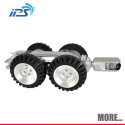 Drain sewer robot inspection tool - motorized pan and tilt crawler sewer camera with 120m cable