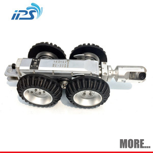 Pan tilt underwater cameras sewer pipe inspection robot