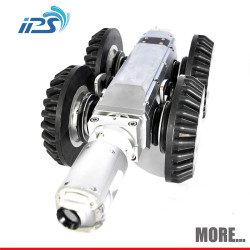 S100 Mini robotic sewer line cameras to inspect sewer lines with 12.1 inch color monitor