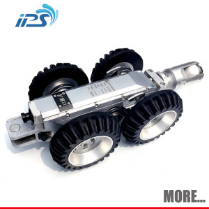 Sewer crawler pipe inspection robot camera for storm drain inspection and leak locating
