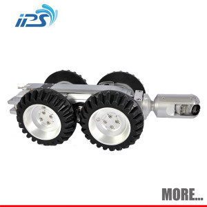 Pan and Tilt Inspection Camera ,Robot S100 Crawler Camera With Manual Camera-Lift