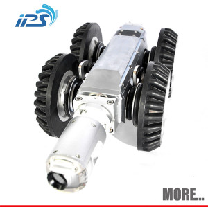 Motorized Pan and Tilt Duct Inspection Robot S100