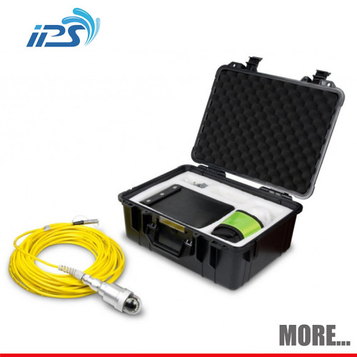 Chimney Inspection porescope Camera with changeable pan and tilt camera head