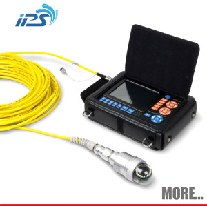 Soft cable inspection camera for chimney