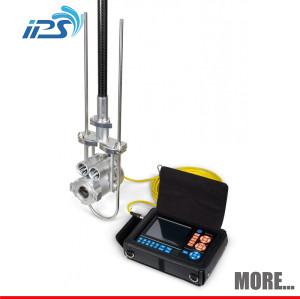 underwater sewage video camera inspecting water leak detector