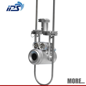 Handhold waterproof chimney inspection camera,cctv chimney camera with dvr recording