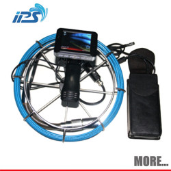Waterproof storm sewer pipe drain inspection camera system