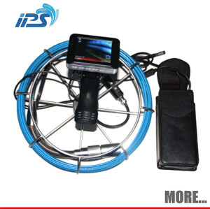 Flexible underwater borehole sewer drain pipe inspection camera for diameter 35mm-150mm