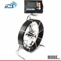 180 Degree Tilt Storm Drain Inspection Camera